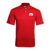 Nike Dri Fit Red Pebble Texture Sport Shirt-