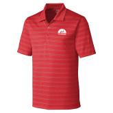 C&B Interbay Cardinal Red Stripe Polo-
