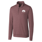 Cutter & Buck Shoreline Maroon 1/2 Zip-