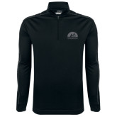 Nike Golf Dri Fit 1/2 Zip Black/Grey Pullover-