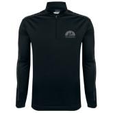 Nike Golf Dri Fit 1/2 Zip Black/Gray Cover Up-
