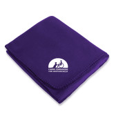 Purple Arctic Fleece Blanket-