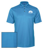 Light Blue Performance Fine Jacquard Polo-