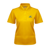 Ladies Gold Dry Mesh Polo-