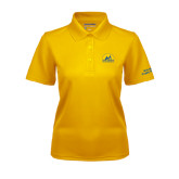 Ladies Gold Dry Mesh Polo-Volunteer Puppy Raiser