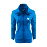 Ladies Sport Wick Stretch Full Zip Sapphire Jacket-
