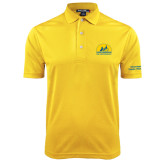 Gold Dry Mesh Polo-Volunteer Puppy Raiser