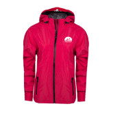 Ladies Dark Fuchsia Waterproof Jacket-
