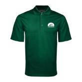 Dark Green Mini Stripe Polo-