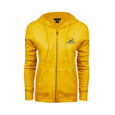 ENZA Ladies Gold Fleece Full Zip Hoodie-