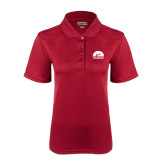 Ladies Cardinal Dry Mesh Polo-