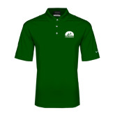 Nike Golf Dri Fit Dark Green Micro Pique Polo-