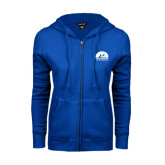 ENZA Ladies Royal Fleece Full Zip Hoodie-