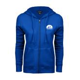 ENZA Ladies Royal Fleece Full Zip Hoodie-