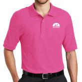 Tropical Pink Easycare Pique Polo-