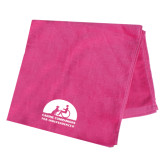 Pink Beach Towel-