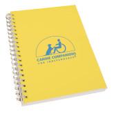 Clear 7 x 10 Spiral Journal Notebook-