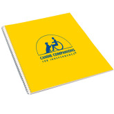 College Spiral Notebook w/Clear Coil-