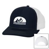 Richardson Navy/White Trucker Hat-