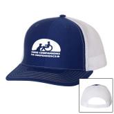 Richardson Royal/White Trucker Hat-