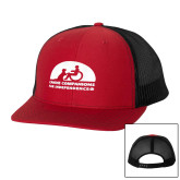 Richardson Red/Black Trucker Hat-