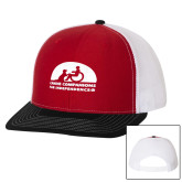 Richardson Red/White/Black Trucker Hat-