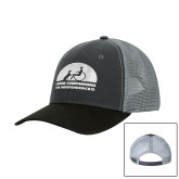 DRI DUCK Hudson Charcoal/Black Trucker Hat-