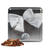 Deluxe Nut Medley Silver Medium Tin-Engraved