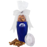 Deluxe Nut Medley Vacuum Insulated Blue Tumbler-Engraved