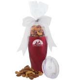 Deluxe Nut Medley Vacuum Insulated Red Tumbler-Engraved