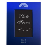 Royal Brushed Aluminum 3 x 5 Photo Frame-Engraved, Personalized