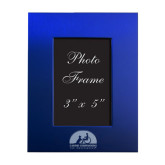 Royal Brushed Aluminum 3 x 5 Photo Frame-Engraved
