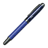 Carbon Fiber Blue Rollerball Pen-Canine Companions for Independence Engraved