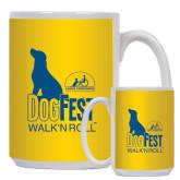 Full Color White Mug 15oz-Dog Fest Tall