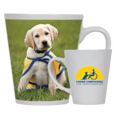 Full Color Latte Mug 12oz-Gold Puppy