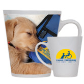 12oz Ceramic Latte Mug-Dog Sleeping