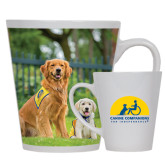 12oz Ceramic Latte Mug-Big Dog with Puppy