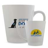 Full Color Latte Mug 12oz-Give a Dog a Job