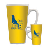 Full Color Latte Mug 17oz-Dog Fest Tall