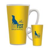 Full Color Latte Mug 17oz-Dog Fest Tall
