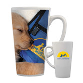 Full Color Latte Mug 17oz-Dog Sleeping