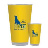 Full Color Glass 17oz-Dog Fest Tall