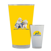Full Color Glass 17oz-Help is a Four Legged Word