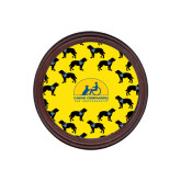 Round Coaster Frame w/Insert-Dog Pattern