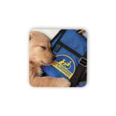 Hardboard Coaster w/Cork Backing-Dog Sleeping