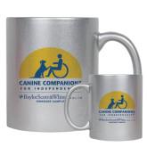 Full Color Silver Metallic Mug 11oz-Kinkeade Campus