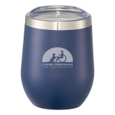 Corzo Vacuum Insulated Navy Cup 12oz-Engraved