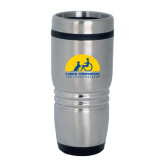 Rolling Ridges Silver Stainless Tumbler-
