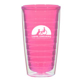 16oz Pink Tritan Double Wall Tumbler-