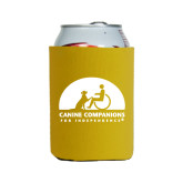 Collapsible Gold Can Holder-